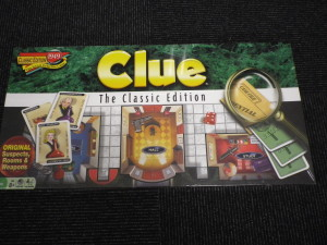 Clueボードゲーム