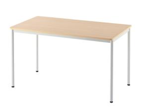 スタンディングデスクで使用【ASKUL】アール・エフ・ヤマカワ ラディーワークテーブル 幅1200mm ナチュラル RFSPT 1270NA 通販   アスクル(法人向け)