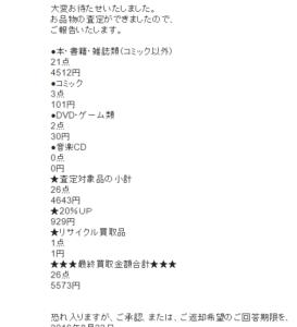 買取5573円