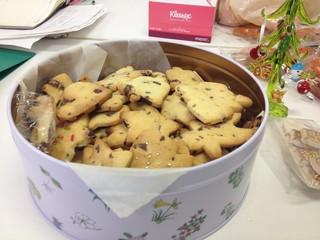 クリスマスクッキーat本棚お助け隊